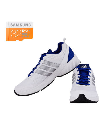 Buy Adidas/Reebok Men s Albis 1.0 Mesh Running Shoes with Samsung 32GB Memory card Just Rs. 1099