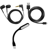 Earphone datacable and Led Light just Rs 5 only