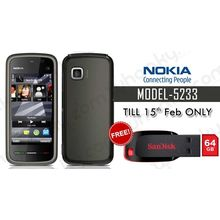 Buy Nokia 5233 Mobile and Get 64GB Pendrive only Rs 1599