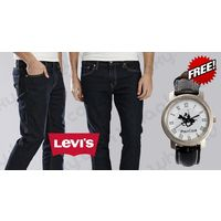 Buy Levis Jeans and Get Polo Club Watch Only Rs. 999, 28