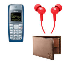 Buy Nokia 1110, Woodland Wallet and JBL Earphone Combo In Just Rs. 999