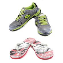 Buy Combo of Stylish Sports Shoes With Slippers Just Rs 999, 10