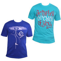 Buy Ifs Mens Cotton Tshirt Combo Of 2 at Just Rs. 399, l