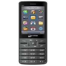 Micromax Astra X910A Grey Mobile Phone 2.8 inch Screen Dual SIM (GSM+ GSM) Cellphone Keypad Cell (Grey)