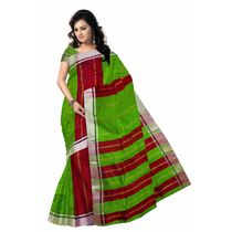 OSSWB062: Striped Solid Silk Saree of bengal