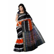 OSS1020: Exclusive handwoven Sambalpuri bandha sari for gift your aunty or old parents