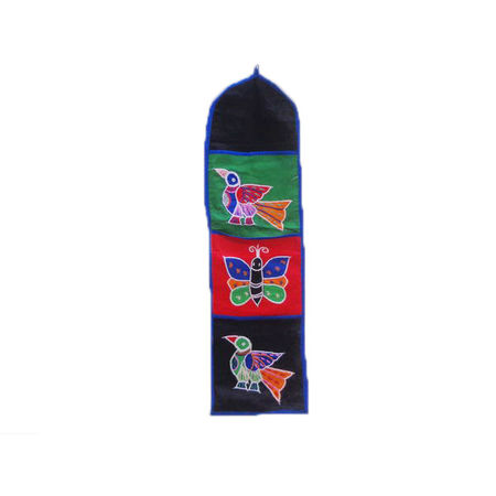 OHA005: Attractive Odisha Pipli applique wall hanging with Pocket