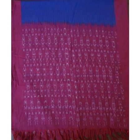 OSSTG004: Handwoven telangana stole for girls