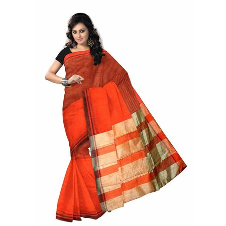 OSSWB024: West Bengal Net handloom saree in best price