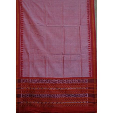 OSS131: Light Red cotton Dupatta best for Party wear