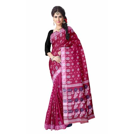 OSSWB098: bengali baluchari cotton saree online shopping