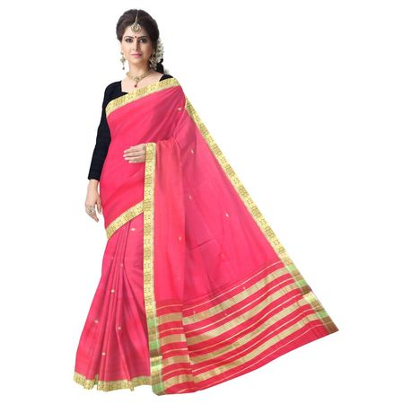OSSMH004: 6 yards Handloom cotton sarees