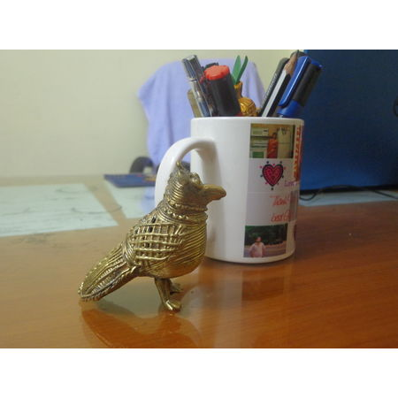 OHD018: Owl Dhokra for Puja room.