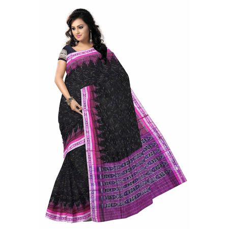OSS7579: Traditional Pink Handloom Indian Cotton Saree