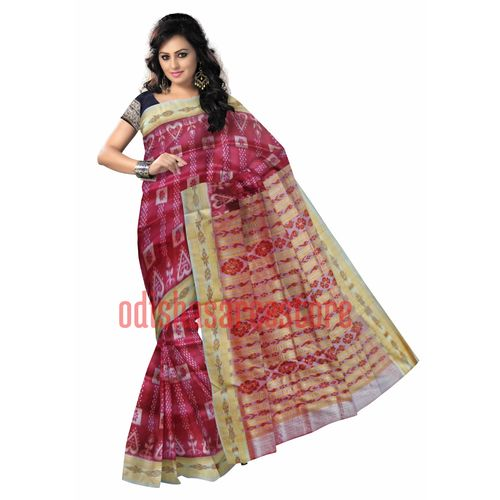 OSS140: Handloom Silk Sari Best in India for Gift