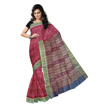 OSS9068: Maroon color special design handwoven silk sarees for bridal wear