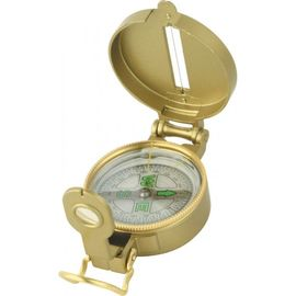 Bronze engineer directional liquid filled metal compass For Camping