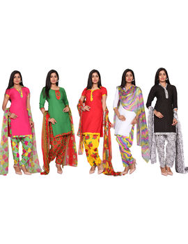Cute 5 Unstitched Chudidhar Material