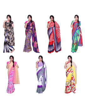 COMBO 58 GEORGETTE 7 SAREES