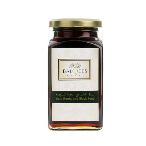 Raw Honey and Black Seed