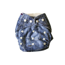 BumChum Modern Pocket Diaper with Two Inserts - Smart Alec