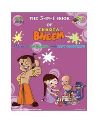 Chhota Bheem 3 in 1 ( Activity / Colouring / Copy Colouring)