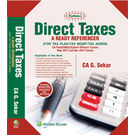 Padhuka's Direct Taxes- A Ready Referencer (for May 2017 & Nov 2017) (CA Final)