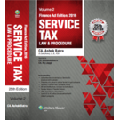 Service Tax Law and Procedure, Finance Act, 2016 Edition, 25E