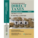 Professional Approach to Direct Taxes Law & Practice (2 Volume Set) , 35E