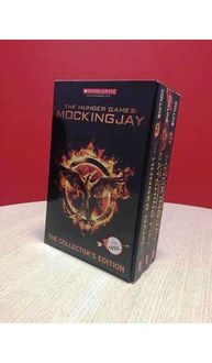 Hunger Games Movie Tie In Collectors Edition Box Set (3 Books)