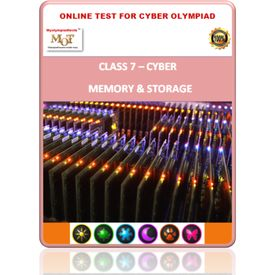 Class 7, Memory & Storage, Online test for Cyber Olympiad