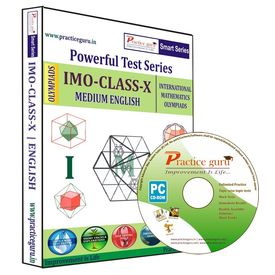 Class 10- IMO Olympiad preparation- Powerful test series (CD)