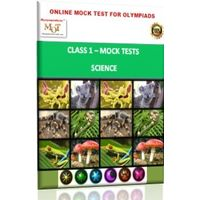 Class 1, Online Topic wise tests, Science- MOT