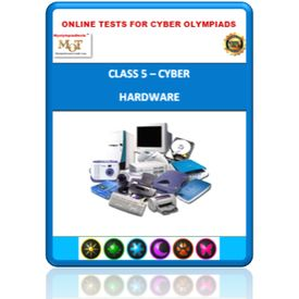 Class 5, Hardware, Online test for Cyber Olympiad