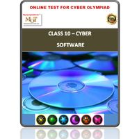 Class 10, Software, Online test for Cyber Olympiad