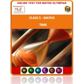 Class 5, Time, Online test for Math Olympiad