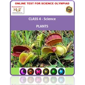 Class 4, Plants, Science Olympiad online test
