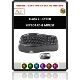 Class 2, Keyboard & Mouse, Online test for Cyber Olympiad