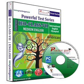 Class 7- IEO Olympiad preparation- Powerful test series (CD)