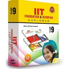 Class 9- IIT foundation, Combipack (Set of 4 books)