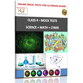 Class 4, Online Topic wise, Science+ Math+ Cyber- MOT