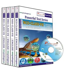 Class 7- NSO NCO IMO IEO Combo CD- pack Olympiad preparation