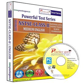 Class 2- NSTSE Olympiad preparation- Powerful test series (CD)