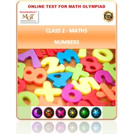 Class 2, Numbers, Online test for Math Olympiad