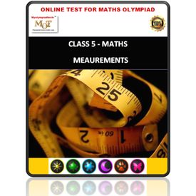 Class 5, Measurements, Online test for Math Olympiad