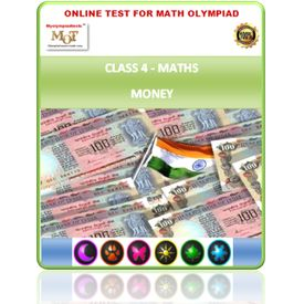 Class 4, Money, Online test for Maths Olympiad