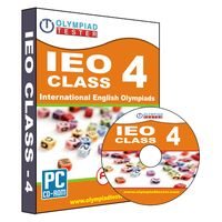 Class 4- IEO Olympiad preparation- Practice test series (CD)
