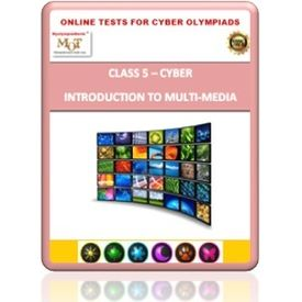 Class 5, Introduction to Multi- media, Online test for Cyber Olympiad