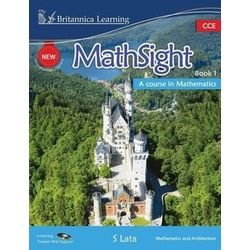New MathSight With Practice Book 1 (With CD)