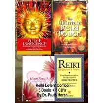 Reiki Lovers Combo Pack (3 Books+ 3 Audio CD's) Dr. Paula Horan